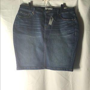 🆕 Torrid Size 20 Denim Mini Skirt